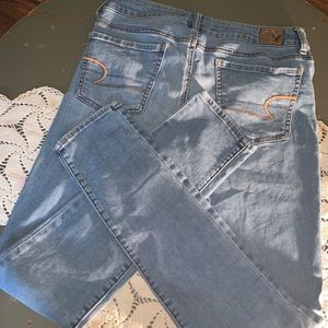 Size 8 long American Eagle Outfitters jeggings